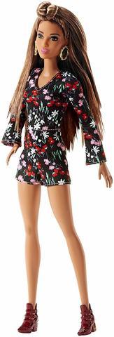<b>Кукла Mattel Барби</b> Модница Цветочный комбинезон — купить в ...
