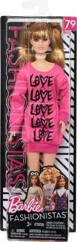 Кукла Mattel Барби Игра с модой Одень свое сердце в розовое