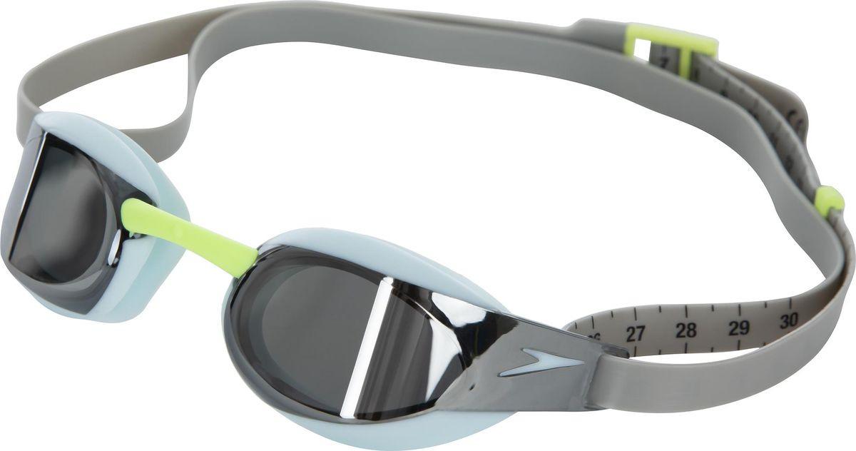 Очки для плавания Speedo Fastskin Elite Gog Mir, 8-08210C849C849, серый, голубой цена