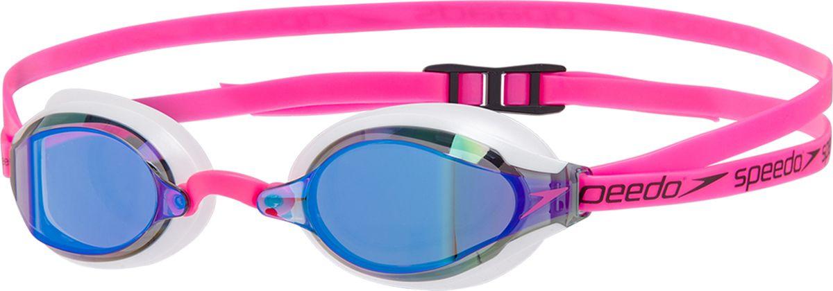 Очки для плавания Speedo Fastskin Speedsocket 2 Mir Au, 8-10897C781, розовый, белый, синий цена