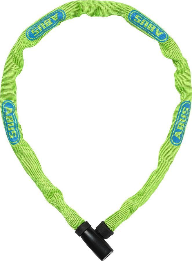 Велозамок с ключом Abus 4804K/75, зеленый, 75 см
