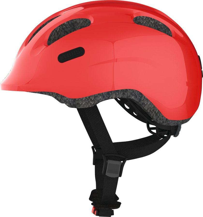 Шлем защитный Abus Smiley 2.0, красный, размер S (45-50) велошлем детский abus smiley пчелы размер m 50 55