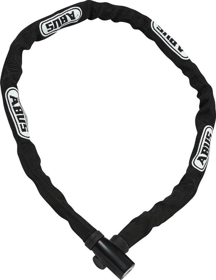 Велозамок с ключом Abus 4804K/110, черный, 110 см