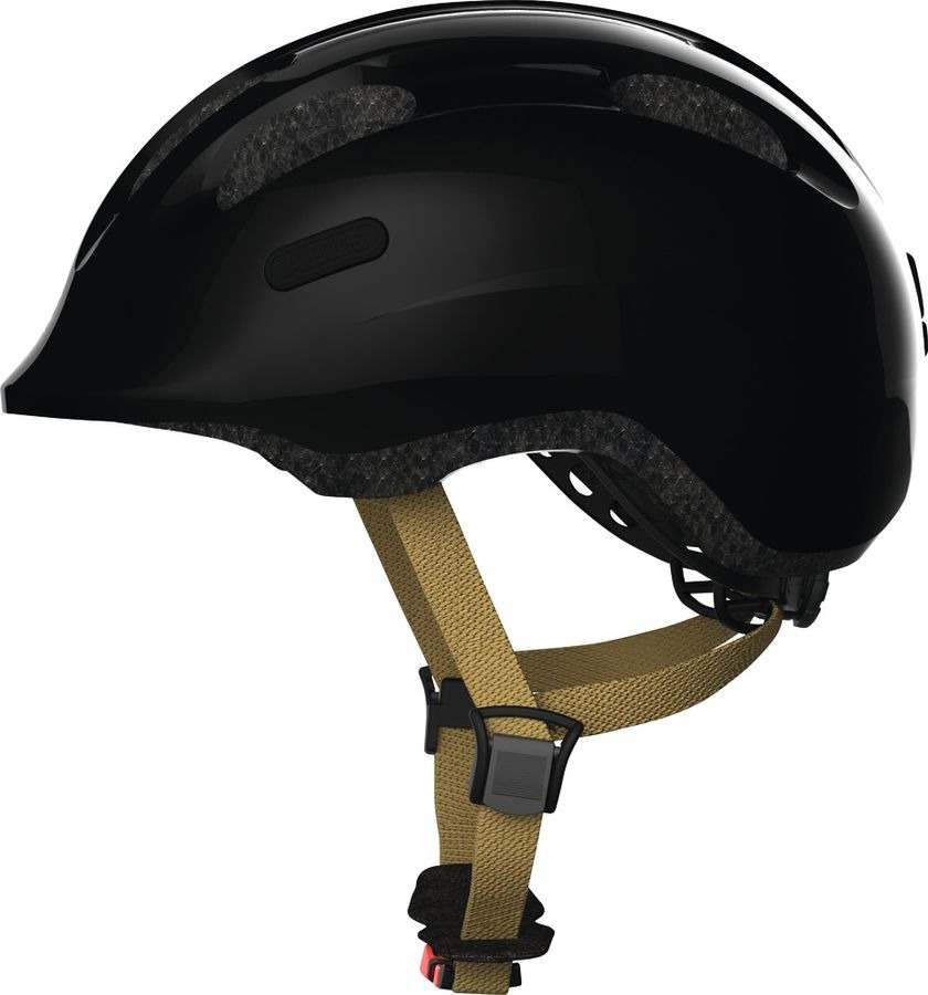 Шлем защитный Abus Smiley 2.0 Royal, черный, размер M (52-58) велошлем детский abus smiley пчелы размер m 50 55