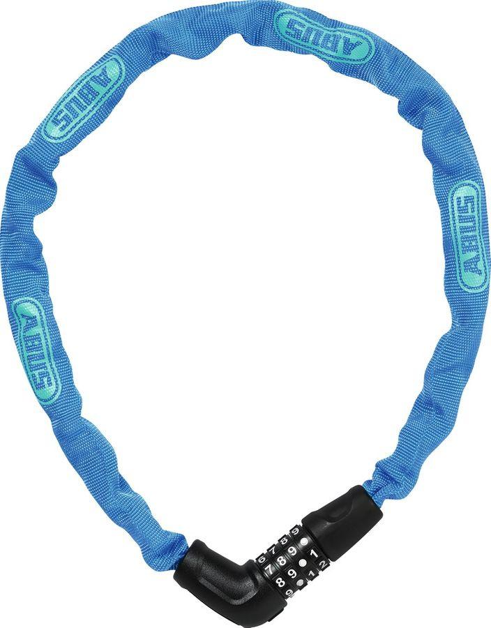 Велозамок кодовый Abus 5805C/75, синий, 75 см