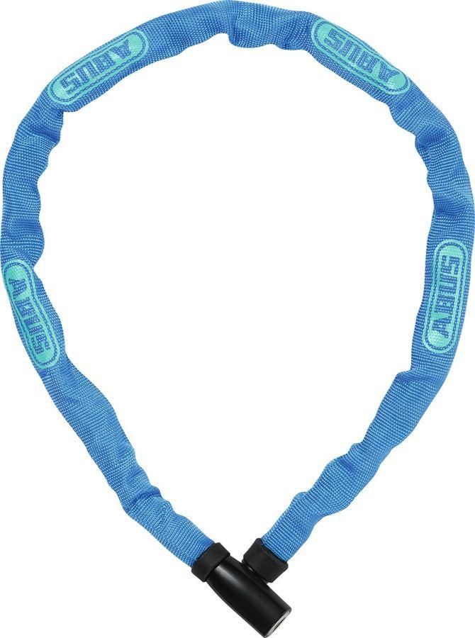 Велозамок с ключом Abus 4804K/75, синий, 75 см