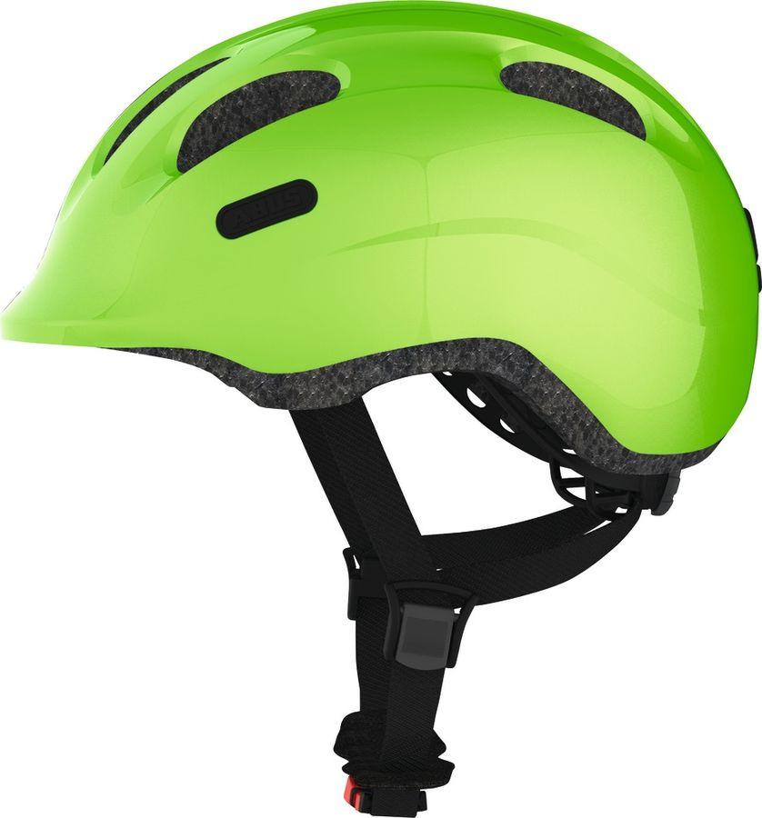 Шлем защитный Abus Smiley 2.0, зеленый, размер S (45-50) велошлем детский abus smiley пчелы размер m 50 55