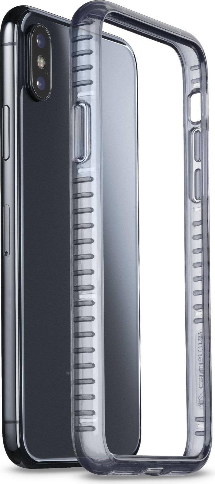 Чехол-бампер Cellularline для Apple iPhone X, AIRFRAMEIPH8XK, черный цена