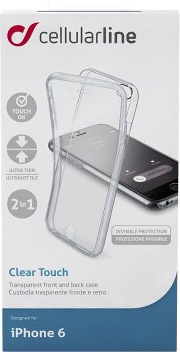 Фото - Чехол Cellularline для Apple iPhone 6, CLEARTOUCHIPH647T, прозрачный чехол для iphone xs max cellularline clear duo прозрачный