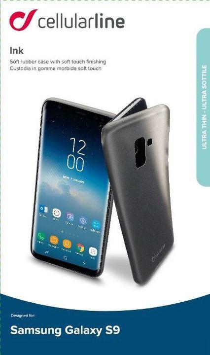 Чехол Cellularline для Samsung Galaxy S9, INKGALS9K, черный цена и фото