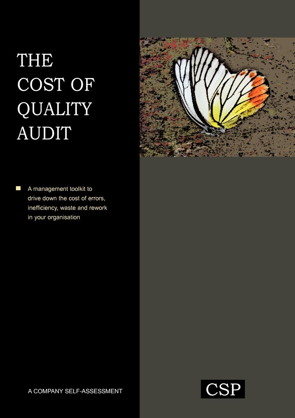 W. Jeffery Howard. The Cost of Quality Audit