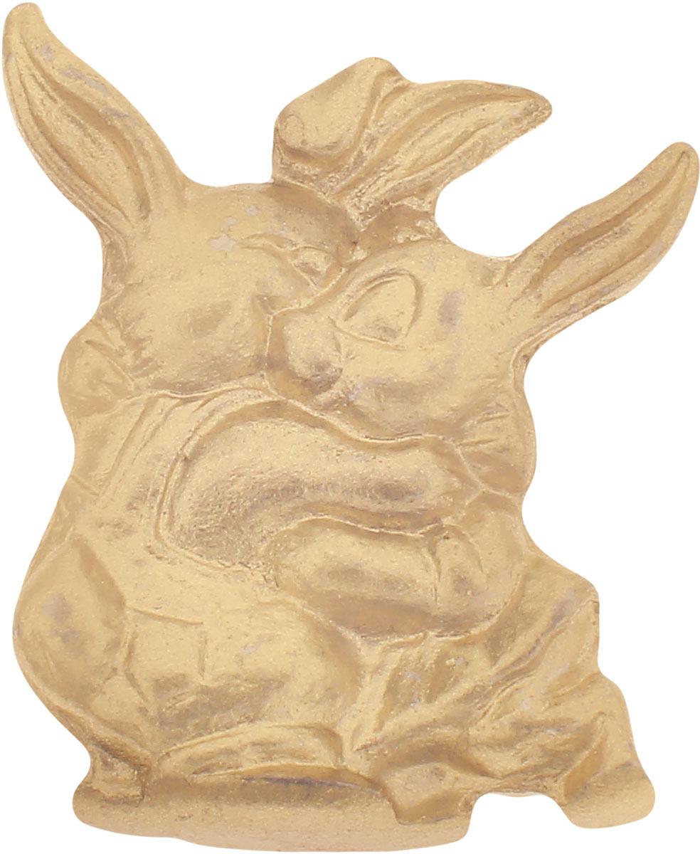 Денежный сувенир Miland Кошельковые зайки, Т-6947, золотой