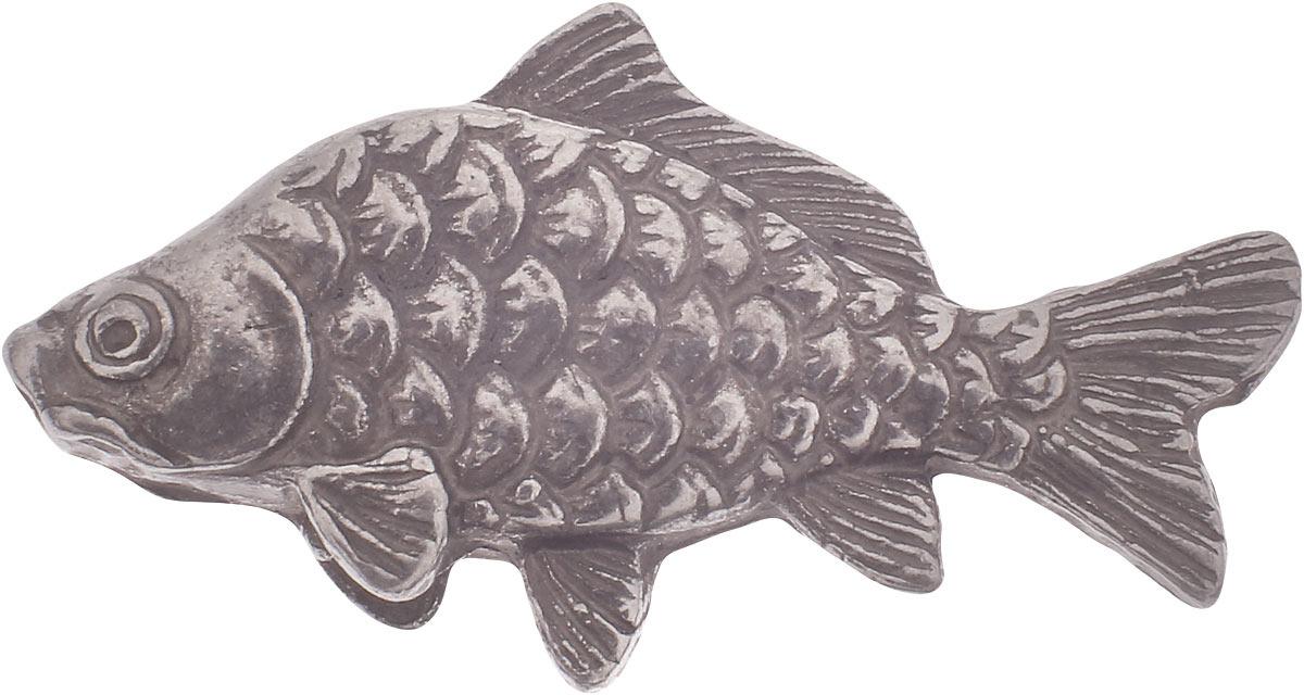 Денежный сувенир Miland Кошельковый карп, Т-6979, серебристый