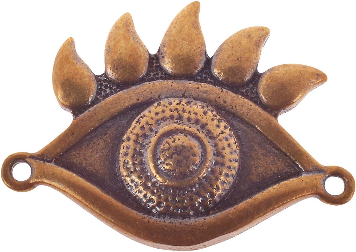 Денежный сувенир Miland Всевидящее око, Т-3679, золотой
