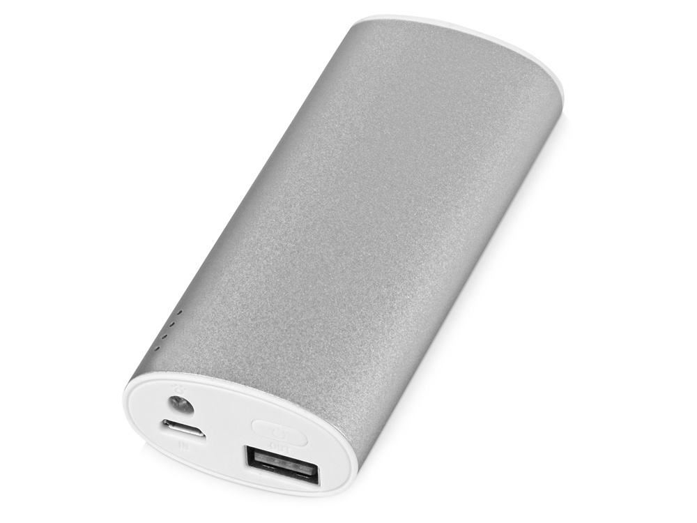 Портативное зарядное устройство Квазар на 4400 mAh, серебристый oasis flash 2200 mah page 4
