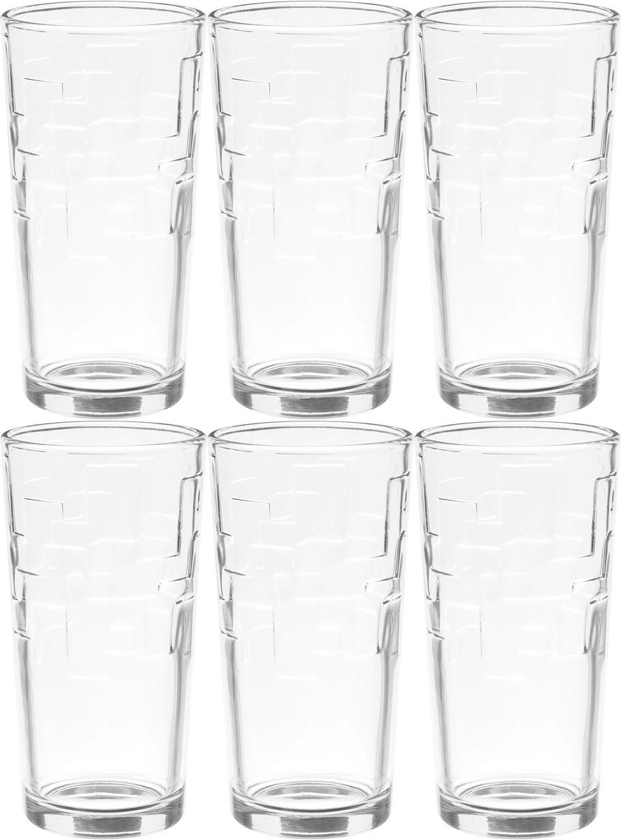 Фото - Набор стаканов ОСЗ Лабиринт, 230 мл, 6 шт [супермаркет] jingdong геб scybe фил приблизительно круглая чашка установлена в вертикальном положении стеклянной чашки 290мла 6 z