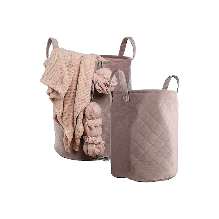 Набор корзин 791748pink, розовый набор из 2 грибных корзин природный интерьер k 2224 s 2