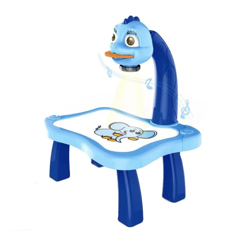 Набор для рисования Markethot Детский проектор для рисования со столиком