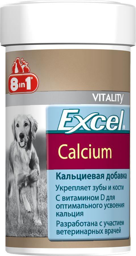 Добавка к корму 8 in 1 Excel Кальций, 880 таблеток 8 in 1 excel кальций 1700таб