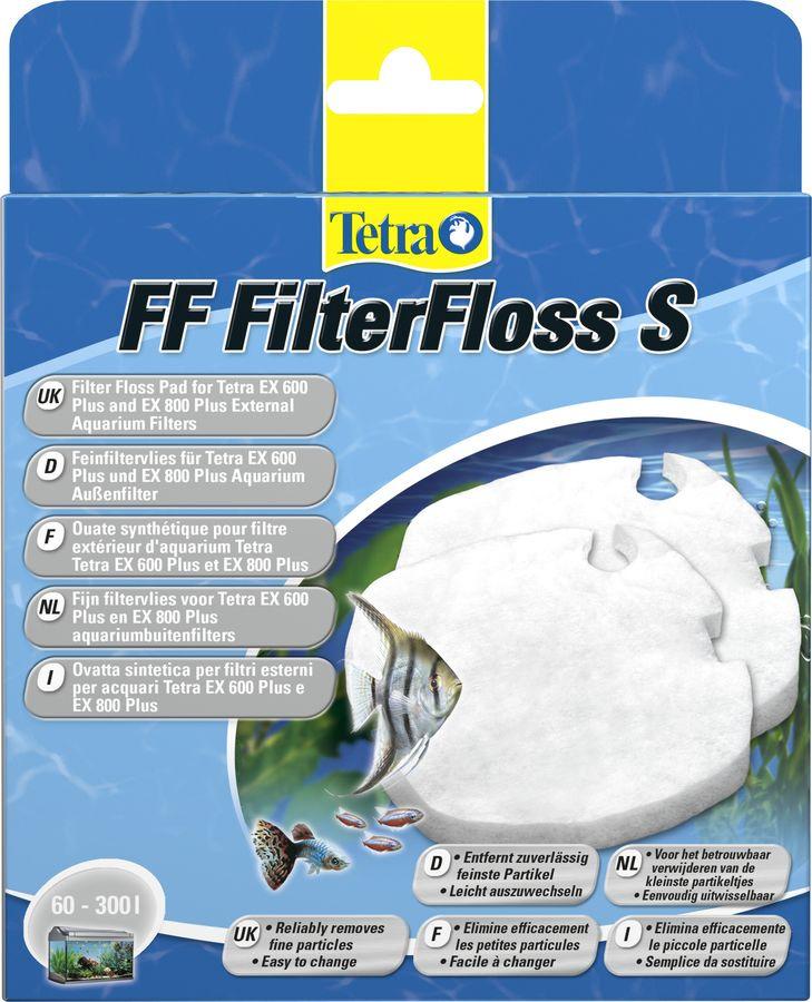 Губка для фильтра Tetra FF 400/600/700/800, для EX 400/600/700/800 Plus, 2 шт фильтрующий материал tetra для фильтров tetra тек in 400 600 губка уголь