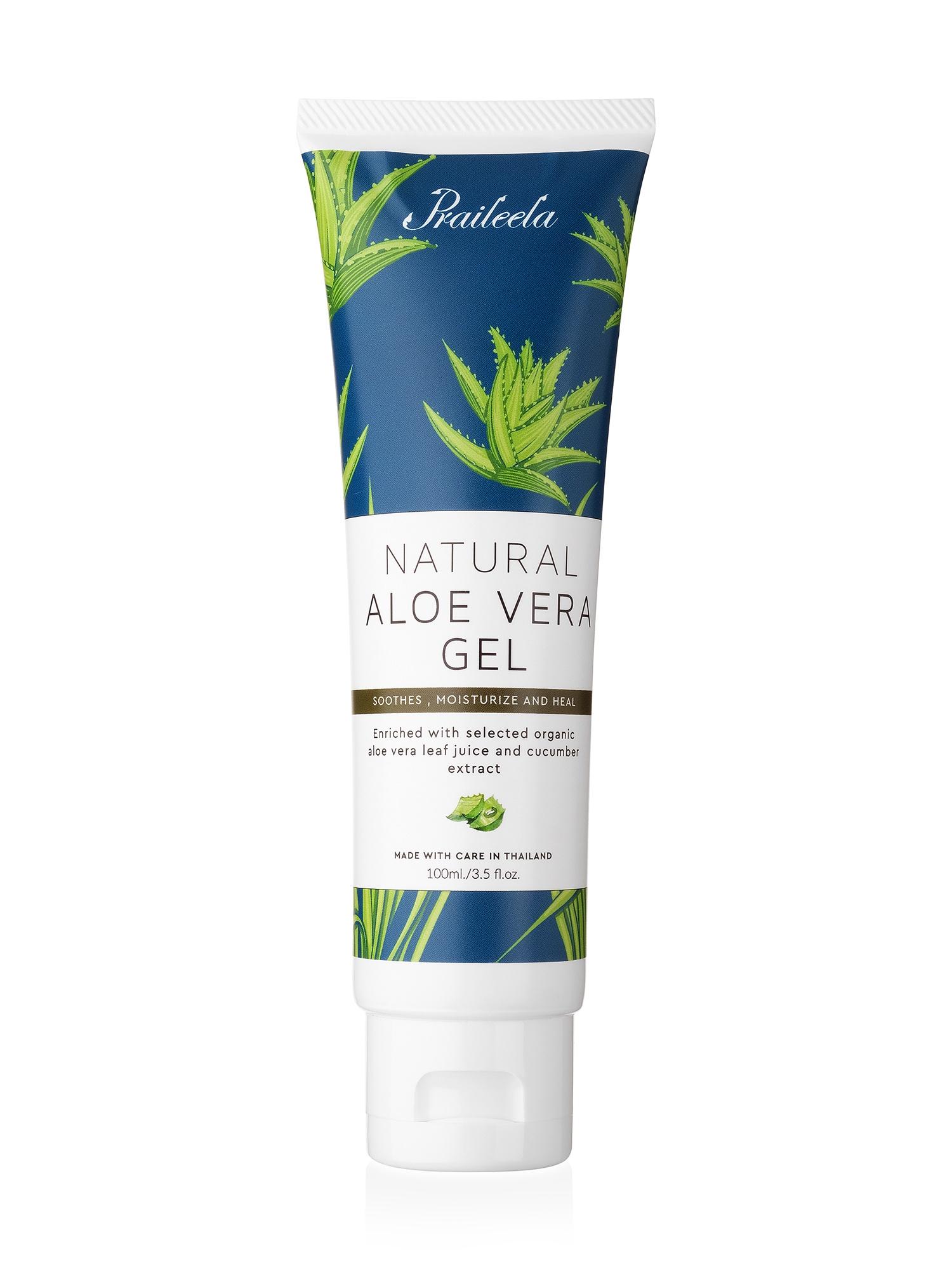 Многофункциональный гель для тела с алоэ вера Praileela Natural Aloe Vera Gel, 100 мл Praileela