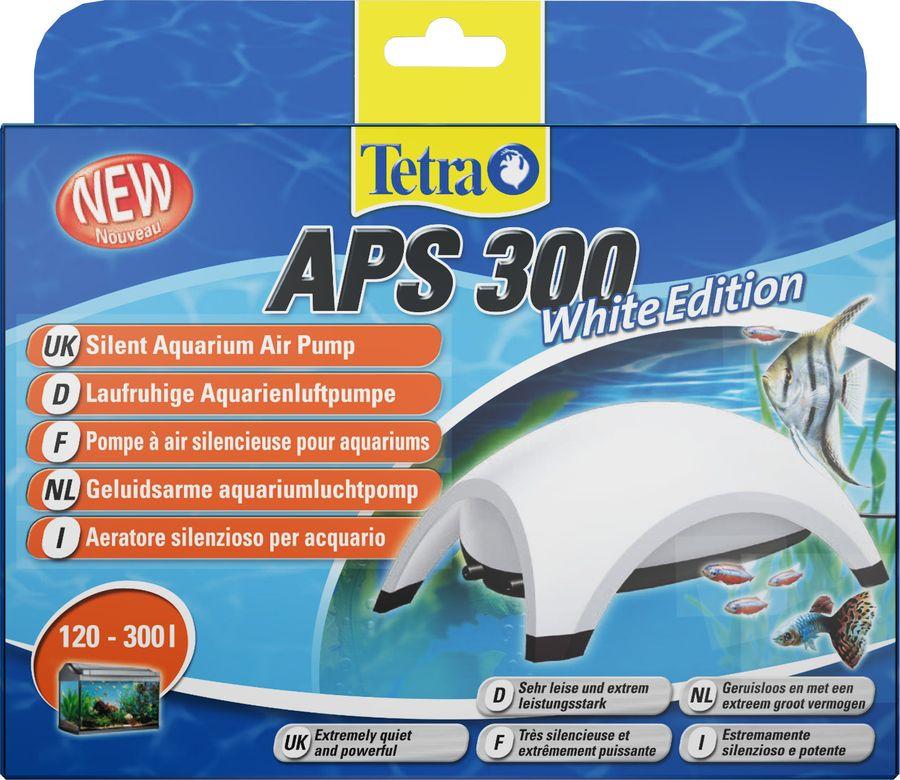 Компрессор для аквариума Tetra AРS 300, белый, 120-300 л tetra компрессор tetra aрs 100 для аквариумов 50 100 л