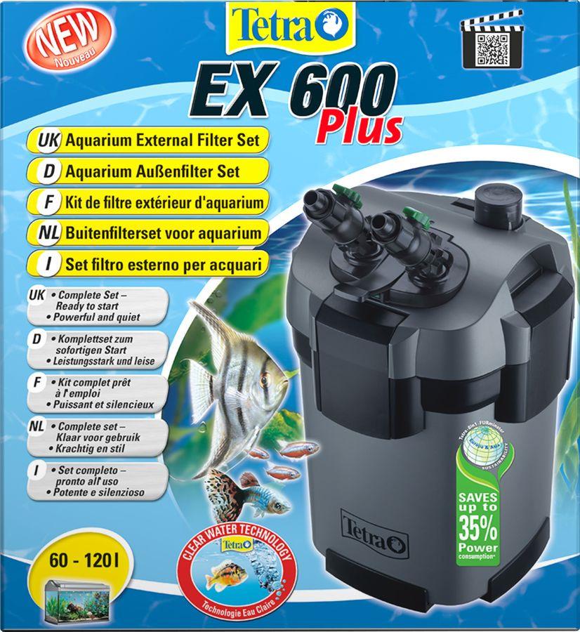 Фильтр для аквариума Tetra EX 600 Plus, 60-120 л