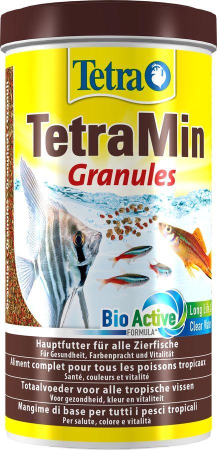 Корм для всех видов рыб Tetra Min Granules, гранулы, 1 л корм для рыб tetra betta в виде гранул 5г