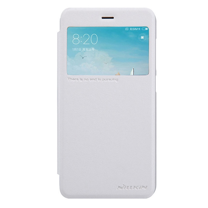 Чехол для сотового телефона Nillkin Sparkle leather case, белый
