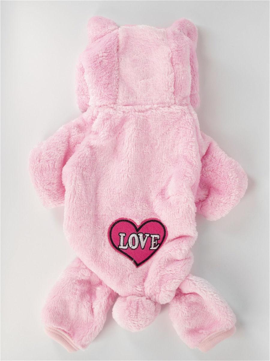 Одежда для собак Удачная покупка P0008-11-S, розовый