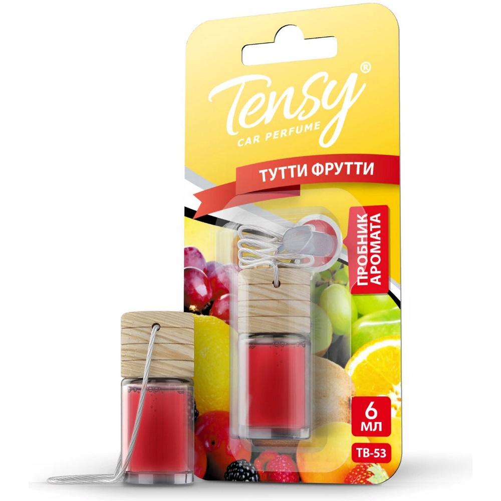 Автомобильный ароматизатор Tensy бутылочка с пробкой, Тутти Фрутти зубная паста babyline тутти фрутти