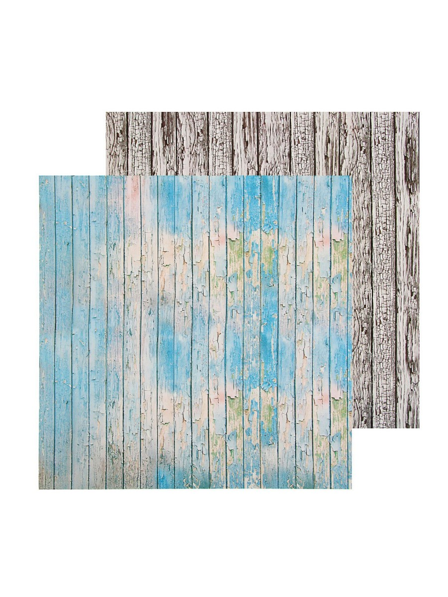 Фотофон АртУзор двусторонний, голубой, светло-коричневый