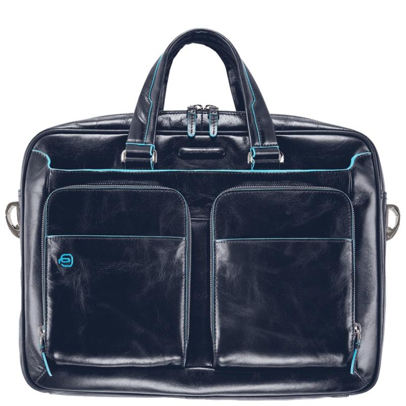 Сумка для ноутбука PIQUADRO CA2849B2/BLU2, синий цена и фото