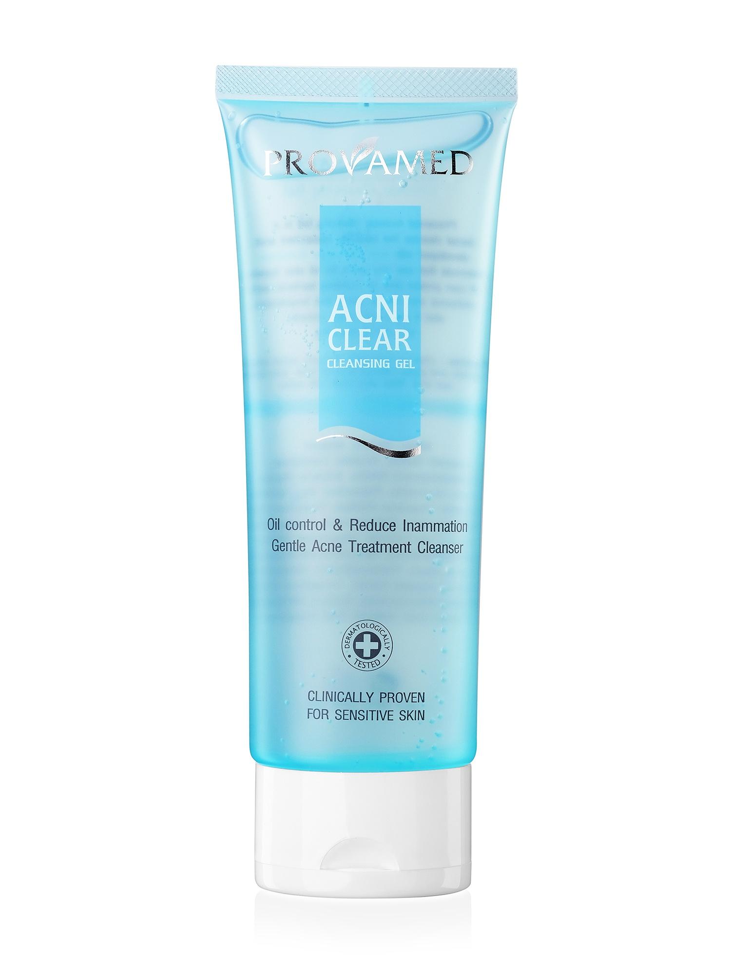 Очищающий гель для проблемной кожи Provamed AcniClear Cleansing Gel, 120 мл Provamed