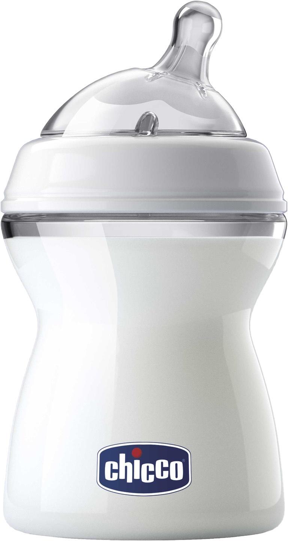 Бутылочка для кормления Chicco Natural Feeling белый для кормления новорожденных