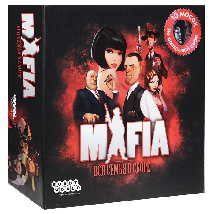 Настольная игра Hobby World Мафия. Вся семья в сборе (2-е издание) настольная игра мафия вся семья в сборе