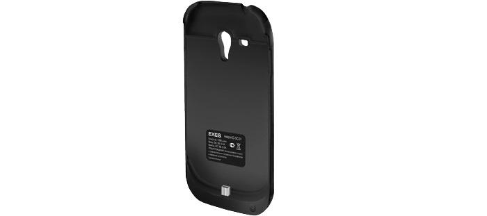 Чехол для сотового телефона EXEQ HelpinG-SС01, черный чехол аккумулятор helping ic01 черный 1900 мач