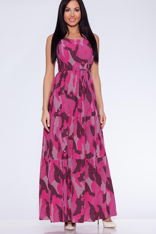Платье Emansipe платье короткое с круглым вырезом и анималистическим принтом