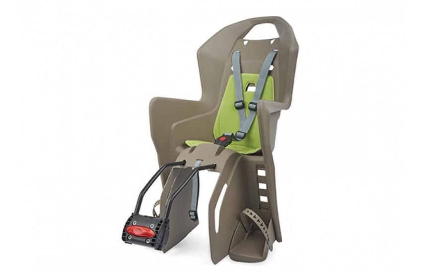 Велокресло детское Polisport Koolah FF 26, коричневый