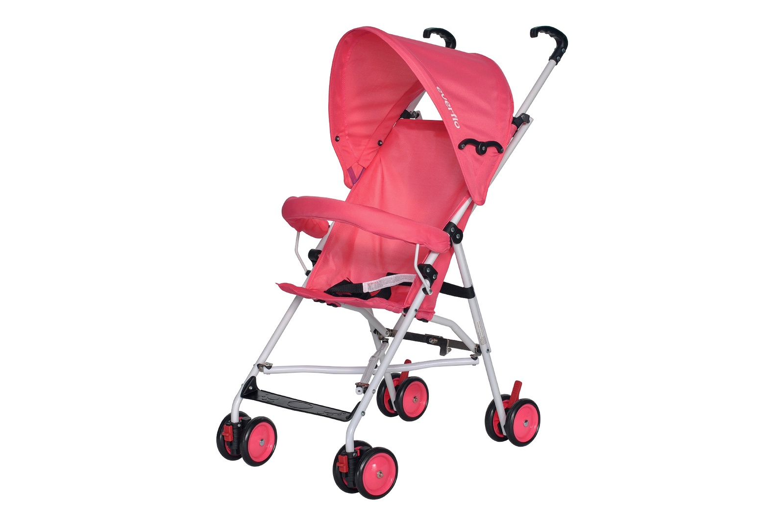 Коляска прогулочная Everflo Simple pink Е 100 розовый коляска трость cybex topaz princess pink 2016 516203015