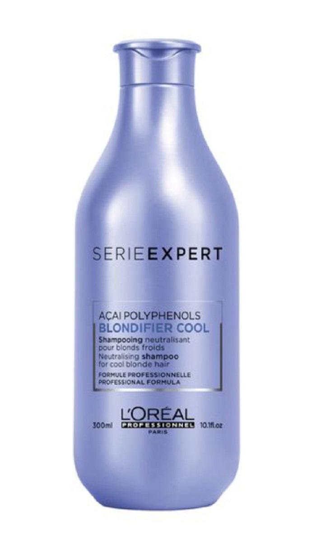 Шампунь для волос L'Oreal Professionnel Blondifier Cool Shampoo для холодых оттенков блонд 300ml.