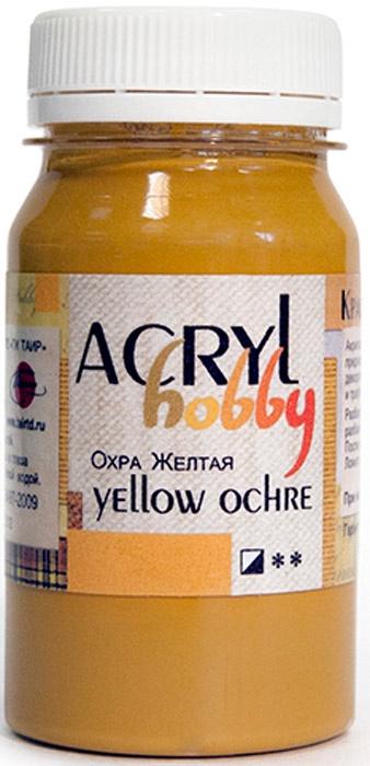 """Краска акриловая Акрил-Хобби, """"Таир"""", 100 мл, цвет: Охра"""