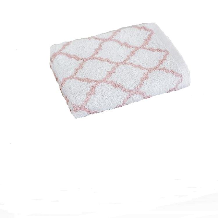 Полотенце для лица, рук или ног Василиса Меморис розовое 50х90см. полотенце махровое василиса флер цвет морская волна