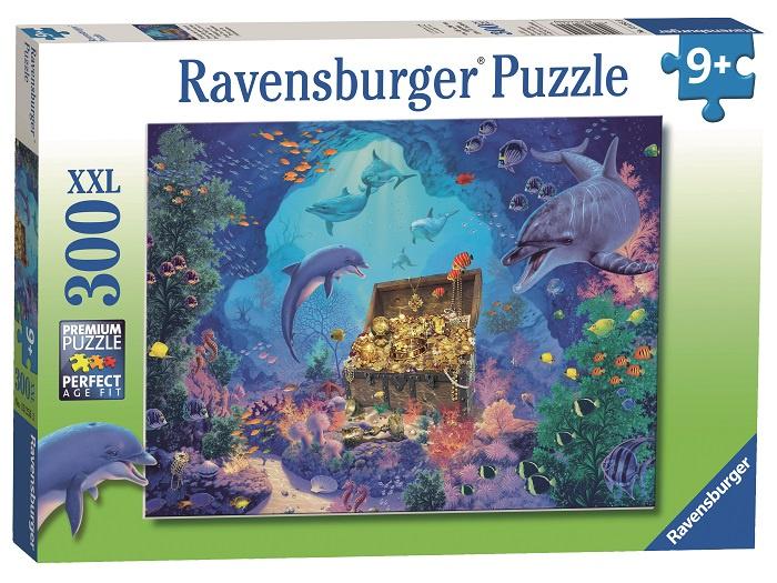 "Пазл Ravensburger ""Сокровище глубокого моря"" 300 шт арт.13255"