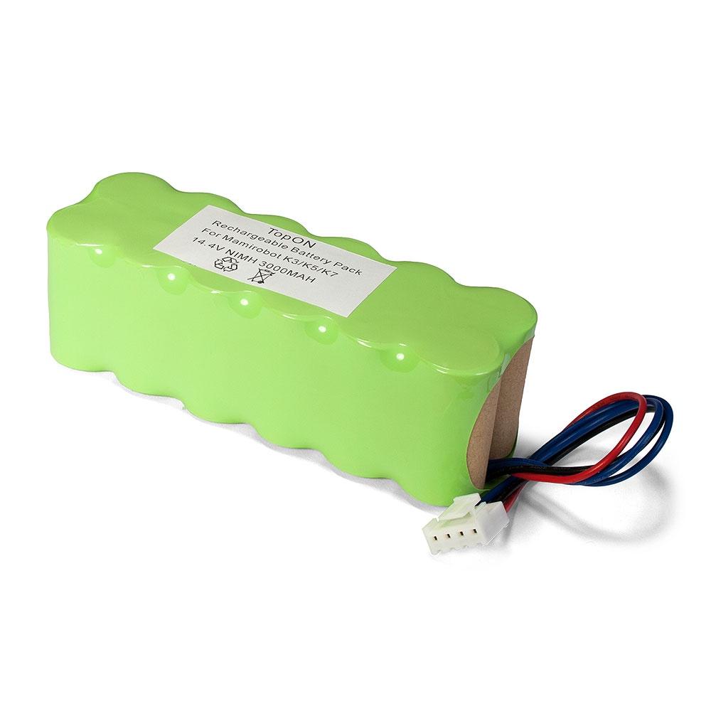 Аккумулятор для пылесоса TopON TOP-MRBT аккумулятор для пылесоса topon mamirobot k3 k5 k7 sevain kf3 kf5 kf7 416 461 14 4v 3000mah ni mh pn gd mami 14 4 rc nmmak7