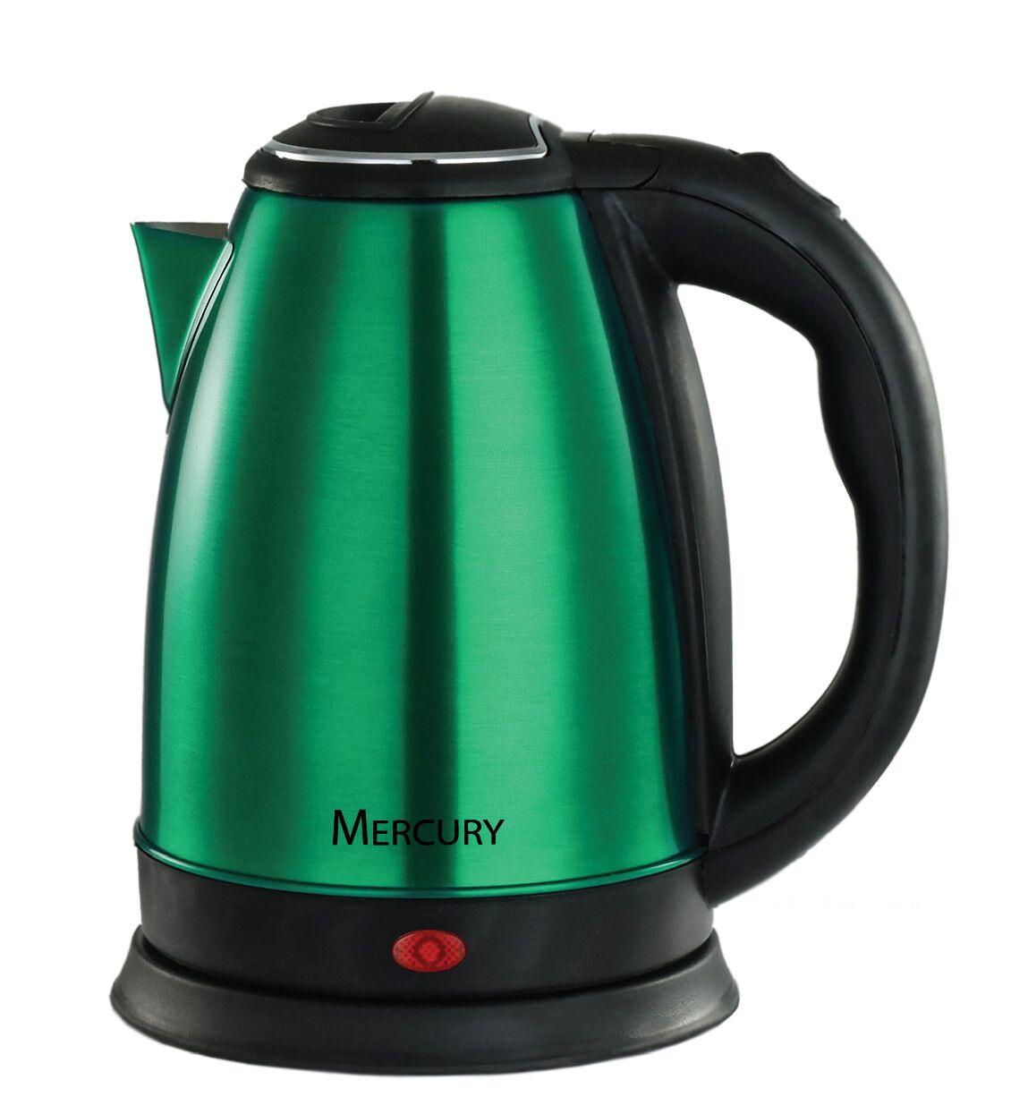 Электрический чайник Mercury Haus MC-6620, темно-зеленый электрический чайник mercury haus mercury mc 6621