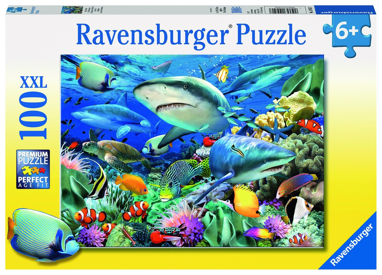 Пазл Ravensburger Акулы XXL 100 шт коробка арт.10951