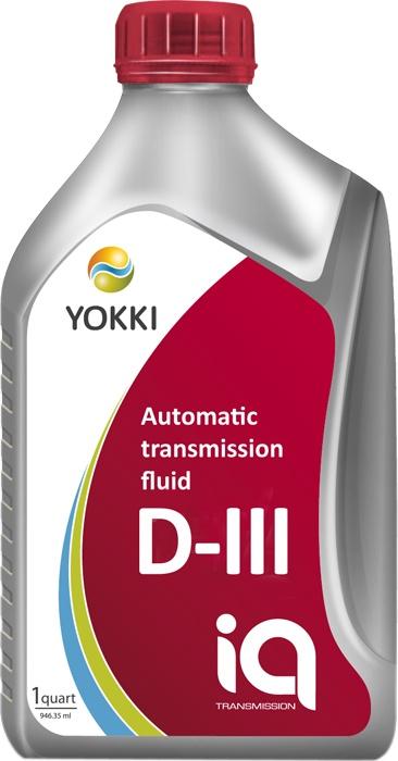 Трансмиссионное масло YOKKI YCA01201QP, красный