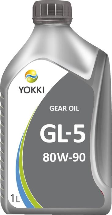 Масло трансмиссионное YOKKI GEAR OIL 80W-90 GL-5 , для механических трансмиссий 80w90 масло трансмиссионное totachi niro super gear gl 5 мт 1 80w 90 180кг 201л