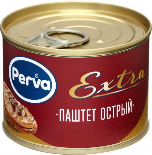 Паштет Курганский острый Perva Extra